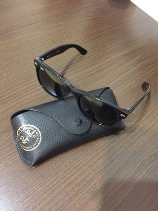 🚚 二手 Ray ban 太陽眼鏡 RB2132 雷朋 黑色 55MM