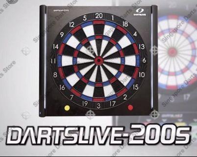 🚚 Dartslive 200s dart board