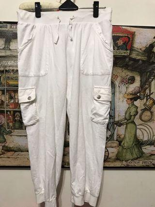 Naturally jo jo七分棉褲,腰27-32,長76公分(L)