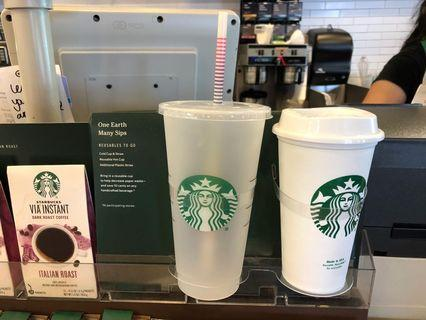 Starbucks 環保杯 冷熱飲杯 凍飲杯包飲管 凍水壺