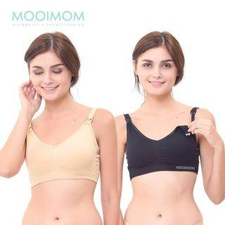 Take all 3pcs Mooimom Nude Ultra Comfort Nursing Bra XL