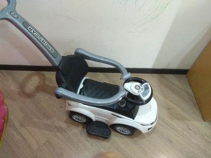 Baby stroller push car