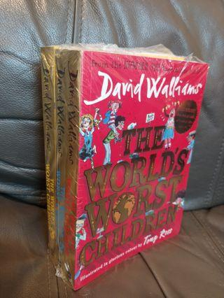 (New) David Williams [The World's Worst Children] collection