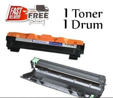 🚚 Compatible Brother TN-1000 Toner and Drum