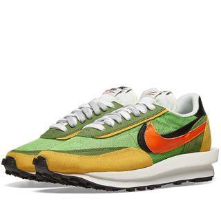 Nike x Sacai LD Waffle Green US 6.5