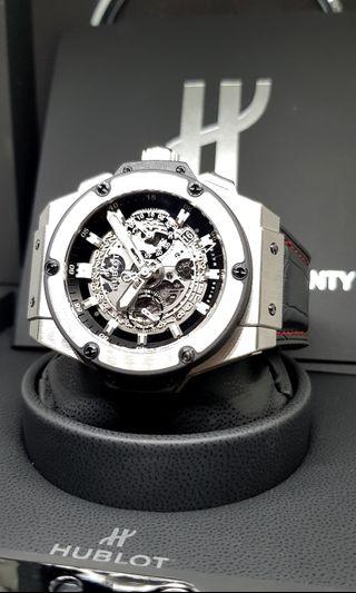Hublot King Power Unico 48mm Skeleton Titanium Chronograph Watch