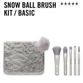 M.A.C Snow Ball Kit Brush Travel Set