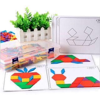 Wooden creative tangram 287 pcs [277]