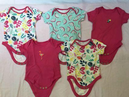 Sale 35rb/pcs Mothercare bodysuits girl