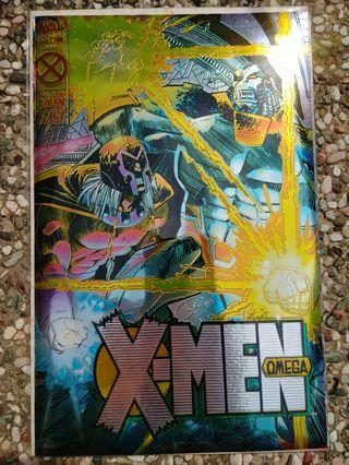 Marvel X-men Omega Foil limited copy