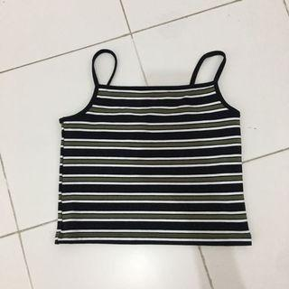 🚚 Striped Crop Top
