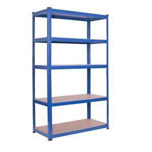 Metal boltless rack 5 tier