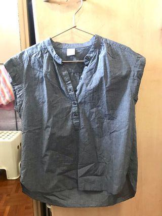 Lalu Grey Box Top