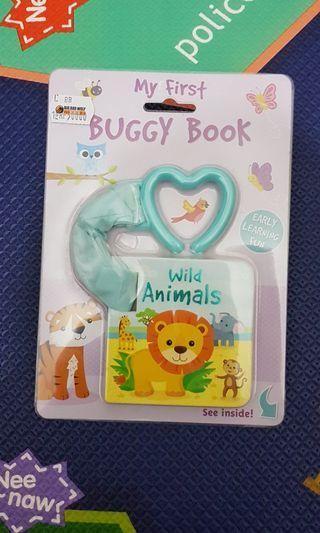 My first buggy book - Buku clip cantol stroller