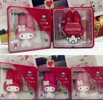 PROMO: 10000mAh My Melody Powerbank Portable Mobile Charger