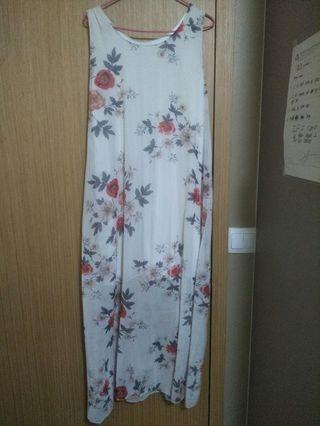 Floral white dress