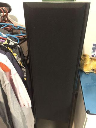 Kenwood 4 way speakers , amplifier and dvd player