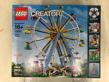 全新未開 靚盒 Lego 10247 Ferris Wheel
