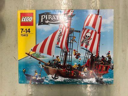 全新未開 正常盒 Lego 70413 The Brick Bounty