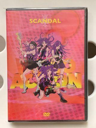 行貨新淨無花 Scandal Video Action Music Video Collection dvd