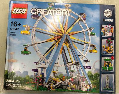 全新未開 唔靚盒 Lego 10247 Ferris Wheel