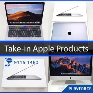 Buy all Apple Products - Apple Macbook Pro Air iMac iPhone iPad X WTS Sell