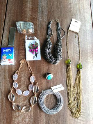 頸鍊手鐲戒指耳環 fashion jewellery