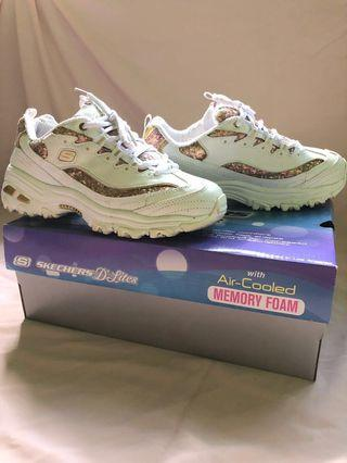 Skechers d'lites with air-cooled memory foam