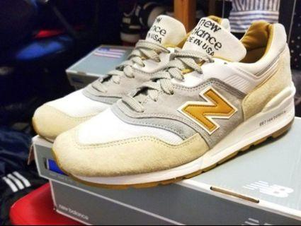 New Balance 997 Coffee Cortado US10.5 (J.Crew)
