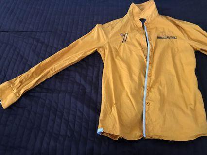 Rope One shirt (mustard)