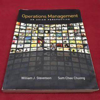 Operation Management - An Asian Perspective