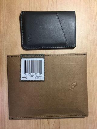 🚚 Bellroy Card Sleeve (charcoal)