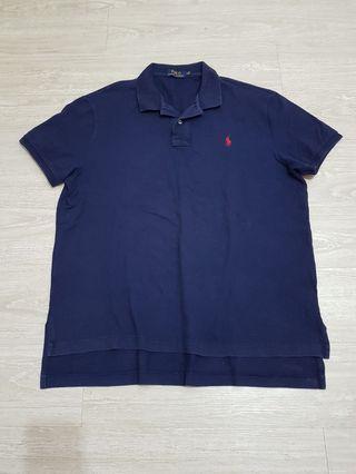 Polo Ralph Lauren深藍基本款Polo衫-XL號