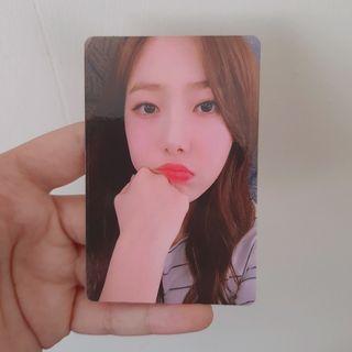 Photocard Yerin+Sowon (Album GFriend Rainbow Repackage)