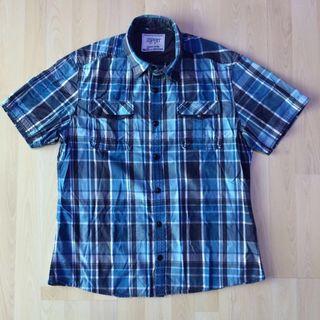Esprit Checkered Flannel Short Sleeve Shirt