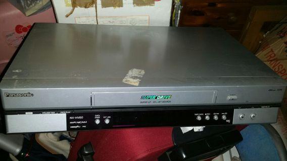 Panasonic VCR, 錄影帶錄播機,屯門交收,Model: NV-HV-60EB-S, 屯門交收, trade in Tuen.Mun.station