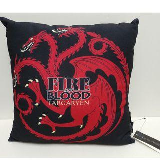 """Game of Thrones - Targaryen """"Fire and Blood"""" Cushion"""