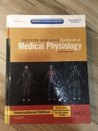 Guyton and Hall Textbook of Physiology