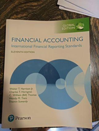 Financial Accounting IFRS Global Edition Pearson 11th Edition Harrison and Horngren
