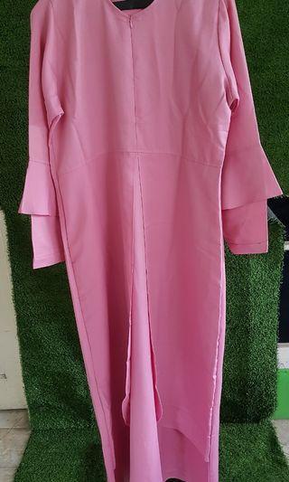 maxi dress pink NEW