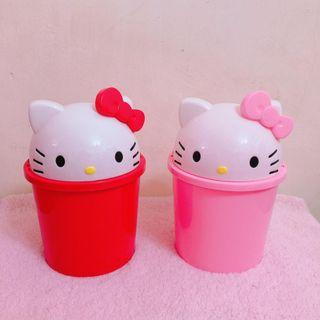 Hello KItty Desktop Storage Bucket