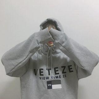 🚚 B19 韓國VETEZE印花帽T 帽踢 薄款
