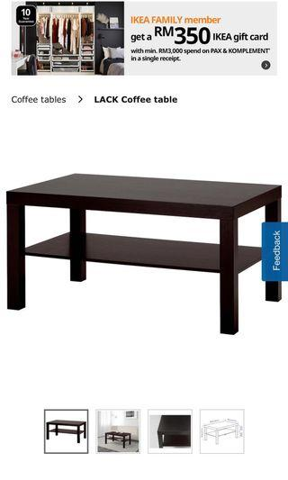IKEA Lack Series - TV Bench, Coffee Table & Side Table!
