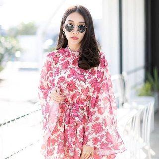 🚚 Playdress / pink flowers