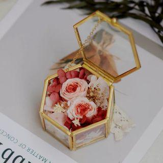 Wedding ring holder 🌸 proposal ring holder 🌸 geometric box