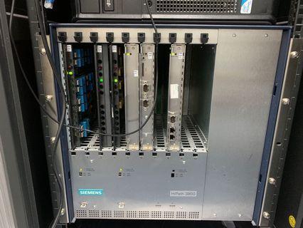 Siemens 西門子 HIPath 3800 PABX 電話系統機
