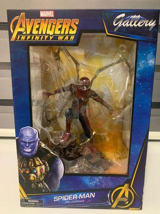 DIAMOND SELECT Marvel Gallery: Avengers Infinity War Iron Spider Spiderman PVC Gallery Figure