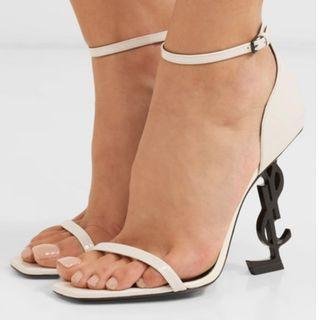 SAINT LAURENT Opyum patent-leather sandals (NP)