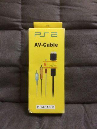 PS2 AV Cable