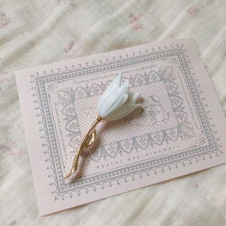 花朵胸針 韓國